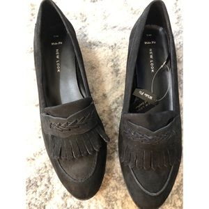 Asos black loafers